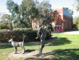 Albert Park / Gasworks Art Park, Graham Street / Sculptures in the gardens