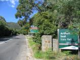 Arthurs Seat / At base of mountain / View south along Arthurs Seat Rd at Glenone Av