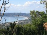 Arthurs Seat / Franklin Point / View north-east towards Safety Beach and Mount Martha