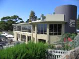 Arthurs Seat / Arthurs Hotel at mountain peak / Arthurs Hotel and sundeck