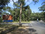 Arthurs Seat / Other attractions at the peak / View west along Arthurs Seat Rd towards Purves Rd