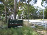 Arthurs Seat / Other attractions at the peak / View east along Arthurs Seat Rd at Purves Rd