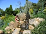 Arthurs Seat / The Enchanted Maze Garden, Purves Road / Ponds at entrance to Childrens Maze