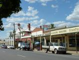 Avoca / Shops and commercial centre, High Street / View north along eastern side of High St, north of Cambridge St