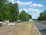 Avoca / Sunraysia Highway / View south along Sunraysia Hwy, south of Astbury St