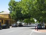 Bacchus Marsh / Shops and commercial centre, Main Street / View east along Main St towards Young St and Royal Hotel