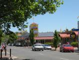 Bacchus Marsh / Shops and commercial centre, Main Street / View west along Main St between Young St and Graham St