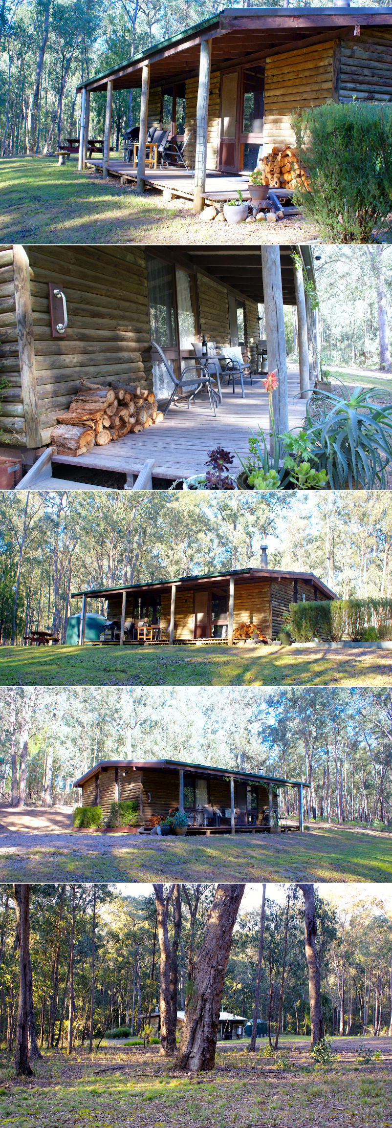 Parkvale Holiday Cabins - Outside