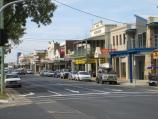 Bairnsdale / Commercial centre and shops / View east along Main St at Service St
