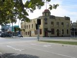 Bairnsdale / Commercial centre and shops / The Commercial Hotel, corner Bailey St and Main St