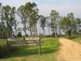 Bairnsdale / McLeods Morass State Game Reserve, Saleyards Road / Entrance to reserve