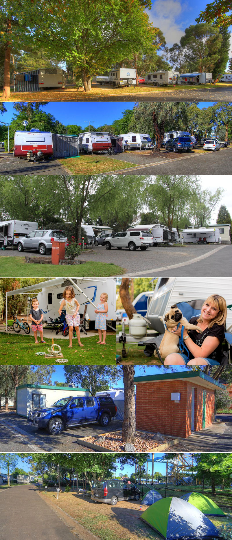 Eureka Stockade Holiday Park - Sites