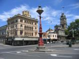 Ballarat / Shops and commercial centre in Sturt Street / View west along Sturt St at Lydiard St
