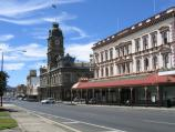 Ballarat / Shops and commercial centre in Sturt Street / View east along Sturt St towards Armstrong St and Town Hall