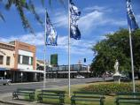 Ballarat / Shops and commercial centre in Sturt Street / View west along gardens in middle of Sturt St towards Doveton St