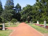 Ballarat / Botanical Gardens at Lake Wendouree / Prime Ministers Avenue, featuring bronze statues of all Australian Prime Ministers