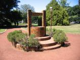 Ballarat / Botanical Gardens at Lake Wendouree / Wishing well