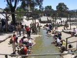 Ballarat / Sovereign Hill, Bradshaw Street / Diggings and gold panning area