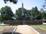 Ballarat / Eureka Centre and gardens, Eureka Street / Memorial and cannons