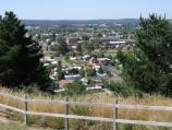 Ballarat / Black Hill Lookout and reserve, Sim Street / View south