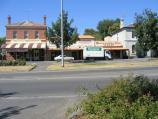 Ballarat / Buninyong - commercial centre / Shops along south side of Learmonth St on east side of Warrenheip St