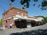 Ballarat / Buninyong - commercial centre / View west along Learmonth St towards Warrenheip St