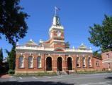 Ballarat / Buninyong - around the town / Town hall, Learmonth St between Warrenheip St and Inglis St