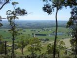Ballarat / Mount Buninyong Road, ascending mountain / Easterly view