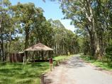 Ballarat / At the peak of Mount Buninyong / Picnic area and shelter
