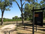 Balnarring / Wineries around Balnarring / Entrance to Kings Creek Winery, Myer Rd