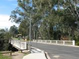 Barnawartha / Indigo Creek Park, High St / View east along High St at Indigo Creek