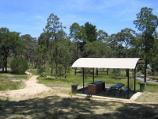 Beaufort / Camp Hill picnic area and lookout, Camp Hill Road / BBQ shelter at picnic area