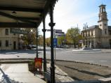 Beechworth / Commercial centre and shops, Ford Street and Camp Street / View north-east along Ford St towards Camp St