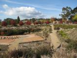 Beechworth / Chinese Gardens, Albert Street at Lake Sambell / View south-east across reserve towards rail trail