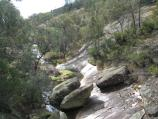 Beechworth / Gorge Road scenic drive / View north along Spring Creek at Gorge Rd