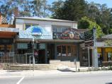 Belgrave / Shops and commercial centre, Main Street and Bayview Road / Shops along west side of Main St, south of Monbulk Rd