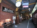 Belgrave / Puffing Billy railway station, north side of Bayview Road / Platform at station