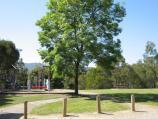 Belgrave / Belgrave Heights town centre, Colby Drive / View through Central Park towards playground