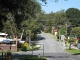 Belgrave / Belgrave Heights town centre, Colby Drive / View east along Colby Dr at Lockwood Rd