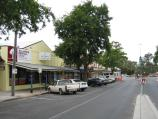 Benalla / Commercial centre and shops / View south along Carrier St between Church St and Bridge St