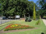 Benalla / Botanical Gardens, Bridge Street West / View across gardens towards entrance