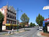 Bendigo / Mitchell Street / View south-east along Mitchell St towards Hargreaves St