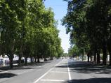 Bendigo / High Street / View south-west along High St at Violet St