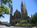 Bendigo / Sacred Heart Cathedral, High Street / View of cathedral from Wattle St