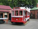 Bendigo / Tram Museum and Workshop, Hargreaves Street / One of the trams on tour