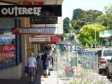 Berwick / Commercial centre and shops, High Street / Shopfronts along south side of High St between Gloucester Av and Clyde Rd