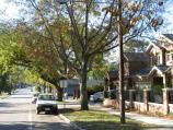 Berwick / Gloucester Avenue / View north along Gloucester Av, south of Langmore La