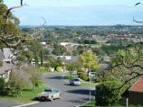 Berwick / Wilson Botanic Park / View south-west along Quarry Hills Dr from path near playground