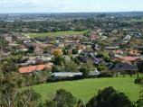 Berwick / Wilson Botanic Park / North-westerly view from Hoo Hoo lookout tower