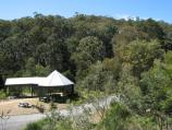 Blackwood / Mineral Springs Reserve at Lerderderg River, Golden Point Road / BBQ and picnic shelters at reserve